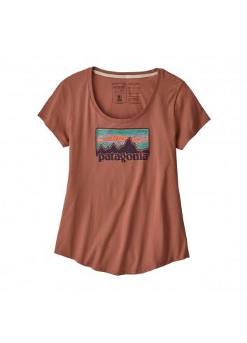 Patagonia Solar Rays 73 Organic Scoop Shirt - Century Pink_12029