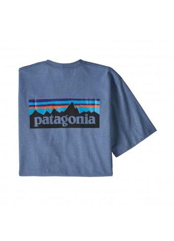 Patagonia P-6 Logo Responsibili T-Shirt - Blue_12031
