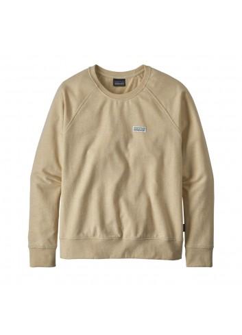 Patagonia Pastel P-6 Ahnya Crew Sweatshirt - Oyster White_12039