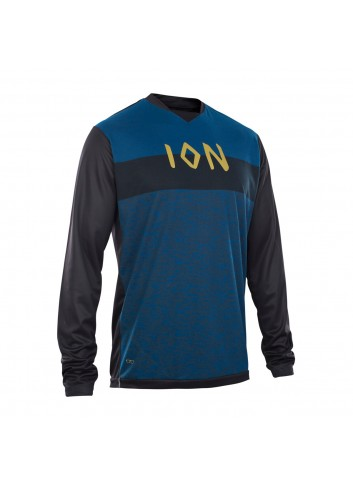 ION Scrub_Amp Shirt LS - Ocean Blue_12049