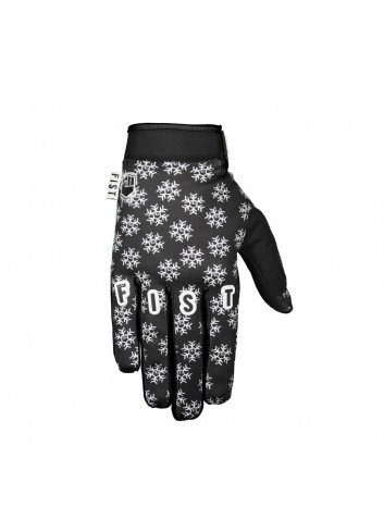 Fist Gloves - Frosty Fingers Black Snowflake_12099