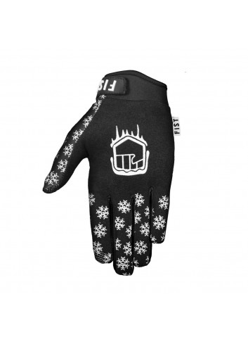 Fist Gloves - Frosty Fingers Black Snowflake_12100