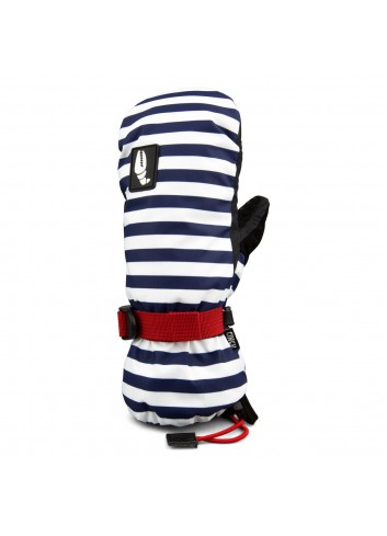 Crab Grab Cinch Mitt Glove - Navy Stripe_12199