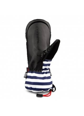 Crab Grab Cinch Mitt Glove - Navy Stripe_12200