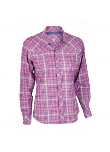 Club Ride Wms Liv'N'Flannel Shirt L/S - Nirvana_12321