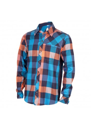 Club Ride Shaka Shirt L/S - Rincon Blue_12327