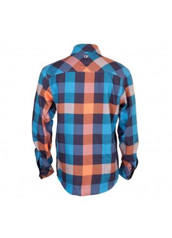 Club Ride Shaka Shirt L/S - Rincon Blue_12328