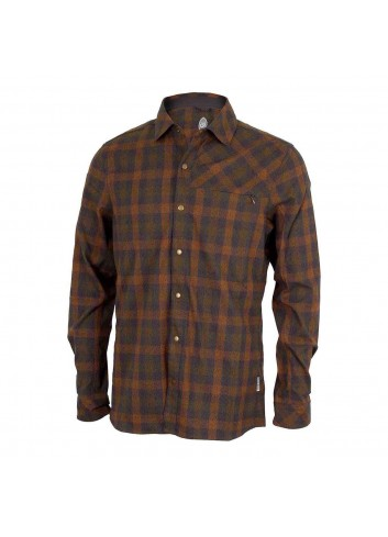 Club Ride Shaka Shirt L/S - Cooper/Olive_12329