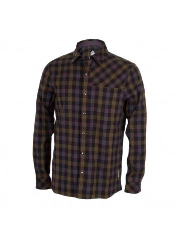Club Ride Shaka Shirt L/S - Black/Olive_12330