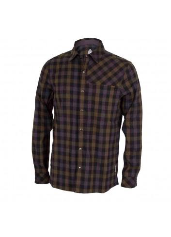Club Ride Shaka Shirt L/S - Black/Olive_12330