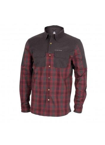 Club Ride Jack Shirt L/S - Merlot_12349