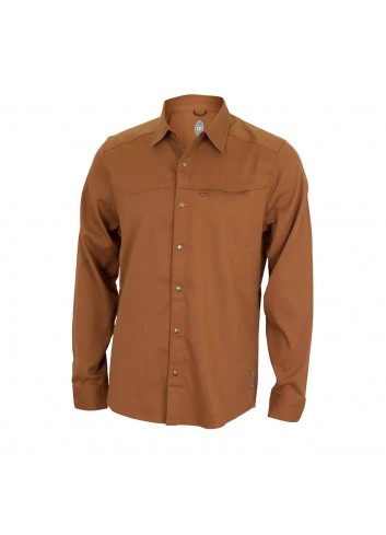 Club Ride Sawtooth Shirt L/S - Copper_12350