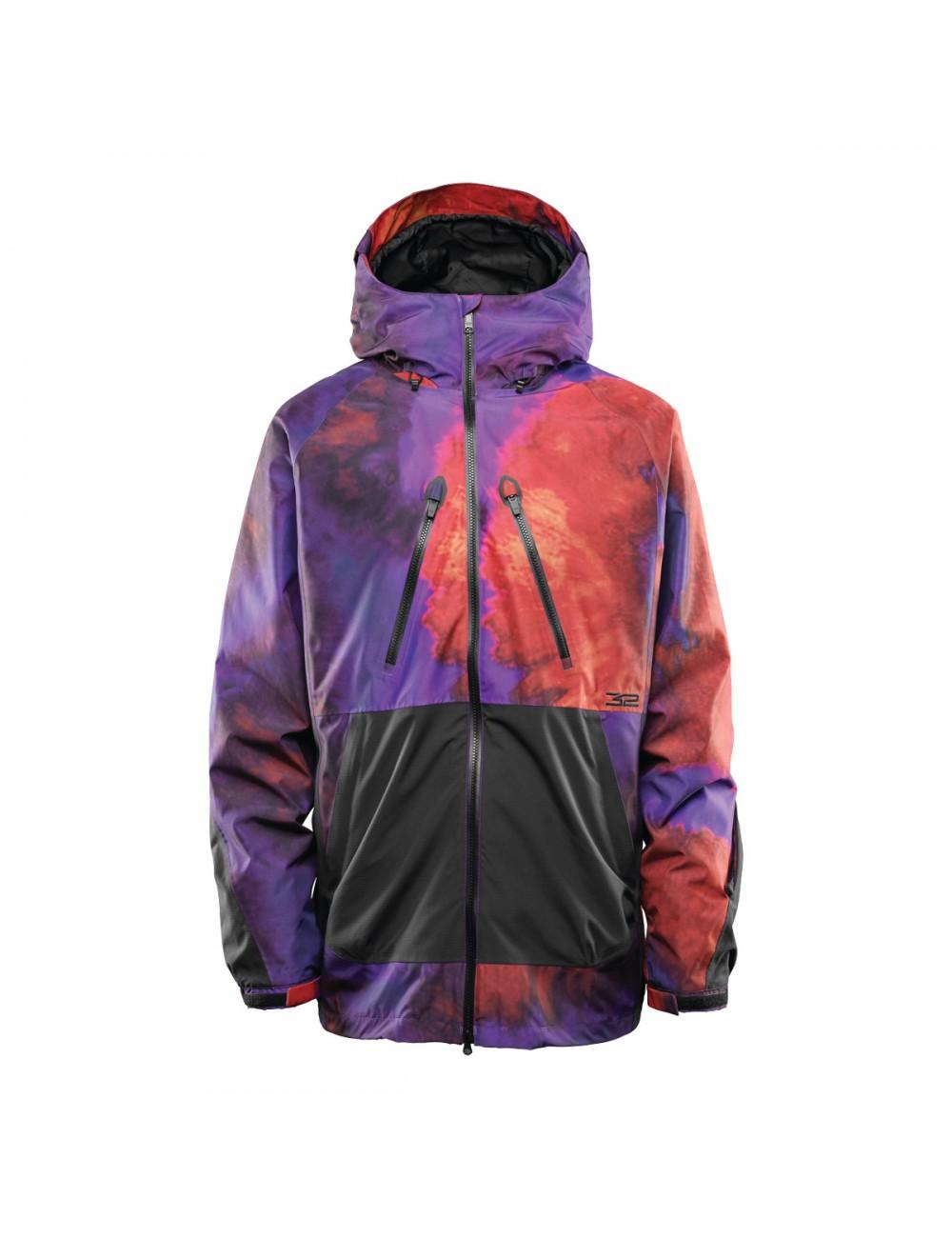 32 Müllair Jacket - Black/ Purple_12381