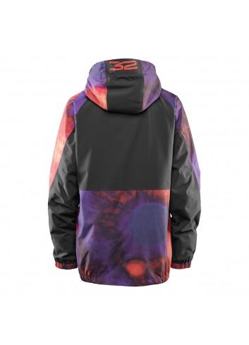 32 Müllair Jacket - Black/ Purple_12382