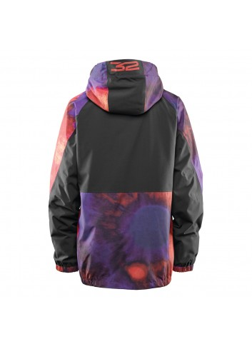 32 Müllair Jacket - Black/ Purple_12382