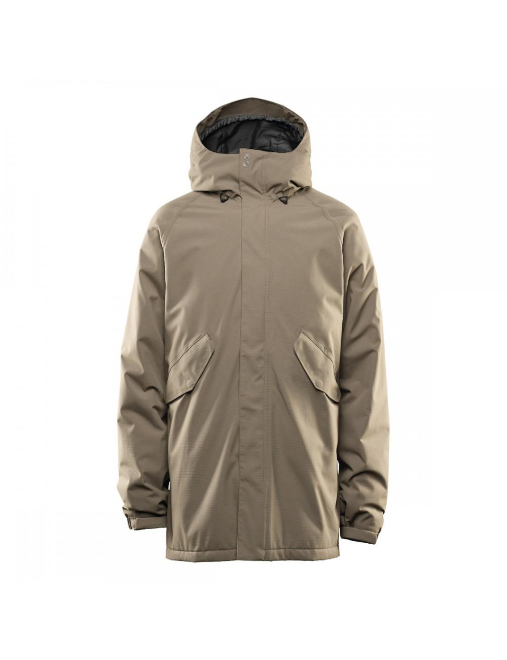 32 Lodger Parka Jacket - Olive_12383