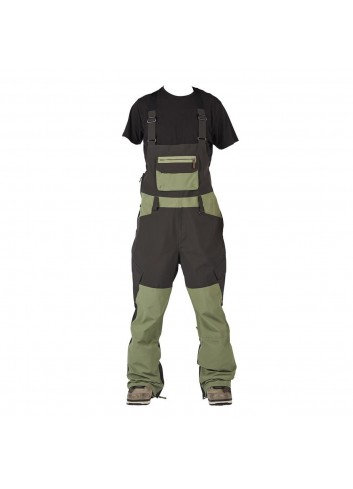 Sessions Bleach Bib Pant - Olive_12395