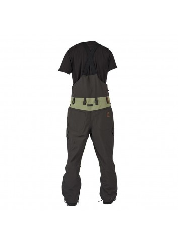 Sessions Bleach Bib Pant - Olive_12396