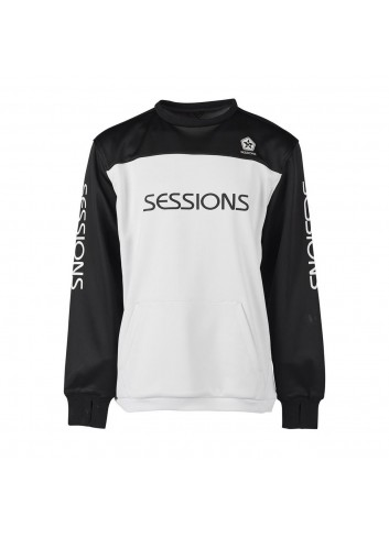 Sessions Roster Crew Pullover - Black_12403