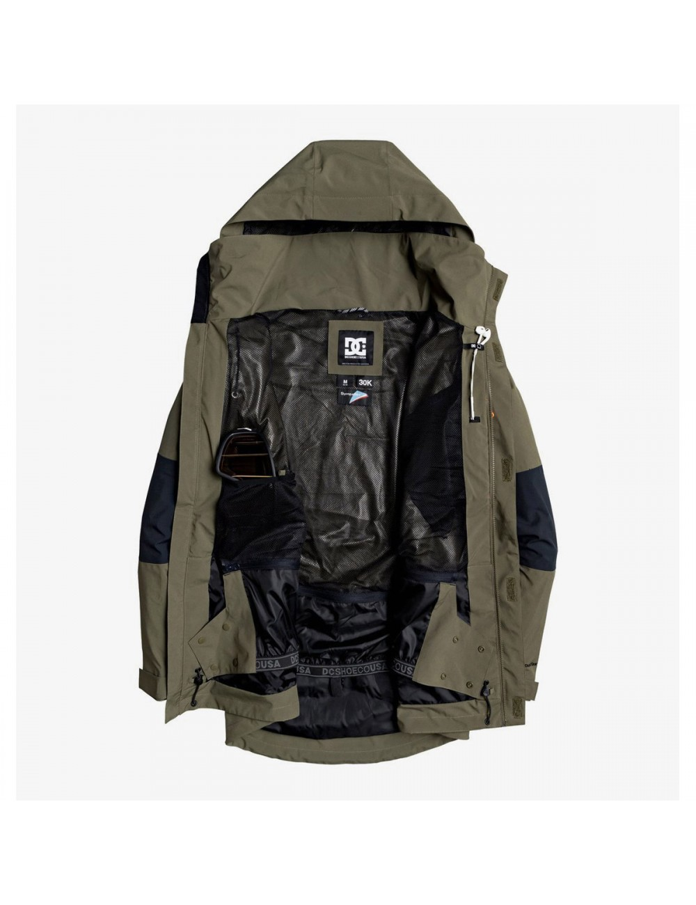 DC Command Jacket - Olive_12466