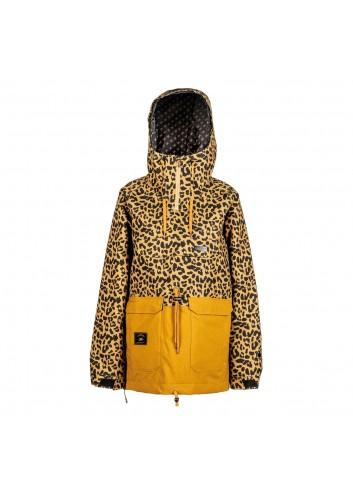 L1 Wms Prowler Jacket - Cheetah/Tobacco_12494