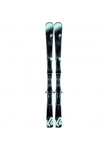 K2 Anthem 74 Ski - Black/Seafoam_12530