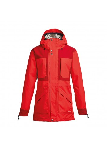 Airblaster Lady Storm Cloak Jackte - Red_12554