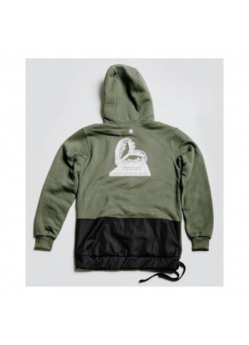 Hä? Mountain Trap Ride Hoody - Olive_12646