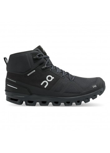 ON Cloudrock Waterproof Shoe - All Black_12663
