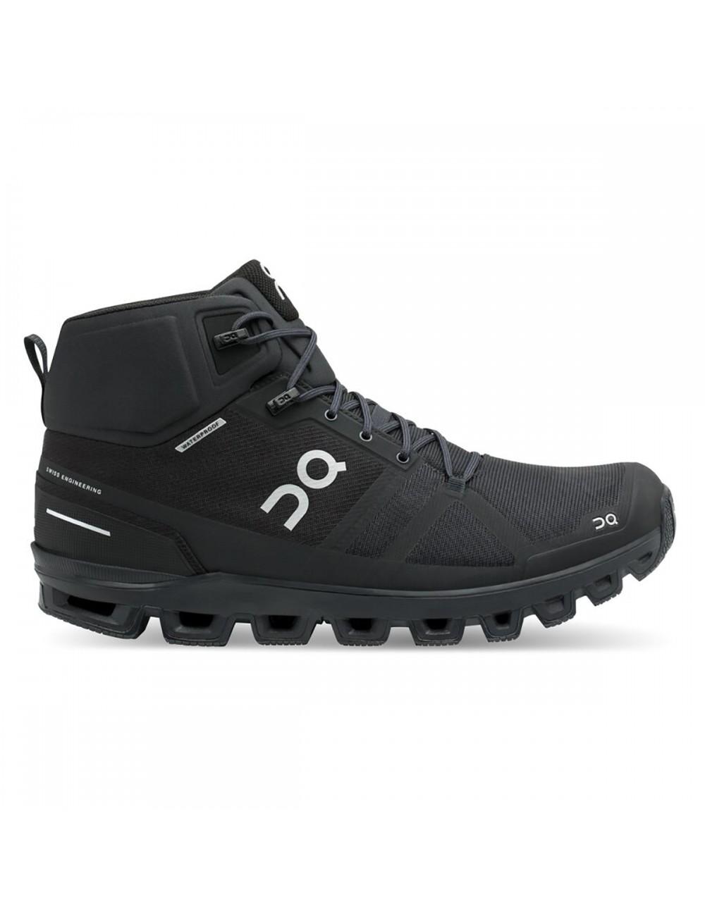 ON Cloudrock Waterproof Shoe - All Black_12663