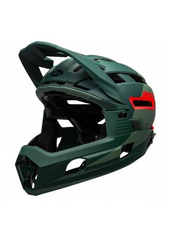 Bell Super Air R Mips Helmet - Green_12715