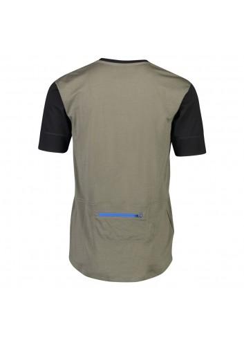 Mons Royale Cadence T-Shirt - Black/Olive_12775