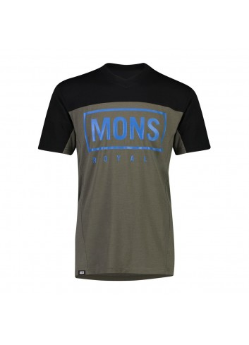 Mons Royale Redwood Enduro VT Shirt - Olive_12778
