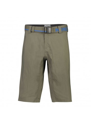 Mons Royale Virage Shorts - Olive_12785