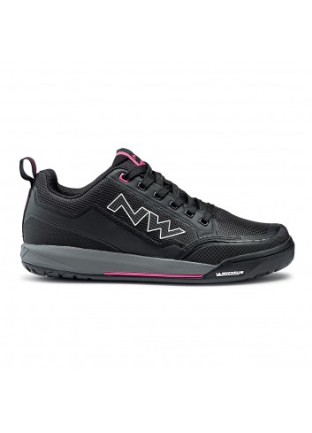 Northwave Clan Shoe - Black/Fuchsia_12810