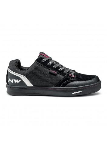 Northwave Tribe Shoe - Black/Fuchsia_12812