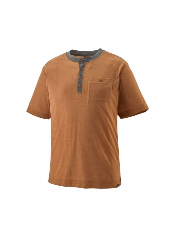 Patagonia Cap Cool Trail Bike Shirt - Wood Brown_12834