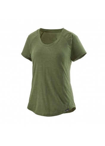 Patagonia  Cap Cool Tail Shirt - Camp Green_12837
