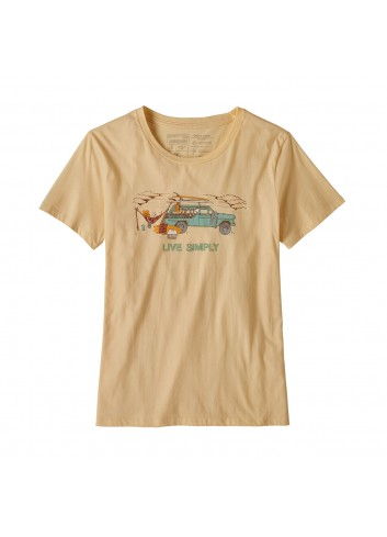 Patagonia Live Simply Lounge Shirt -  Peach_12841