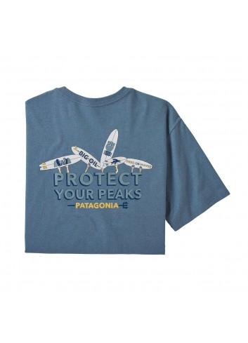 Patagonia Keep the Stoke Shirt - Pigeon Blue_12842