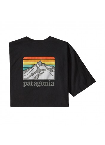 Patagonia Line Logo Ridge Pocket Shirt - Black_12844