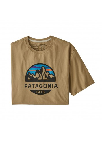Patagonia L/S Fitz Roy Scope Organic Tee - Tan_12845