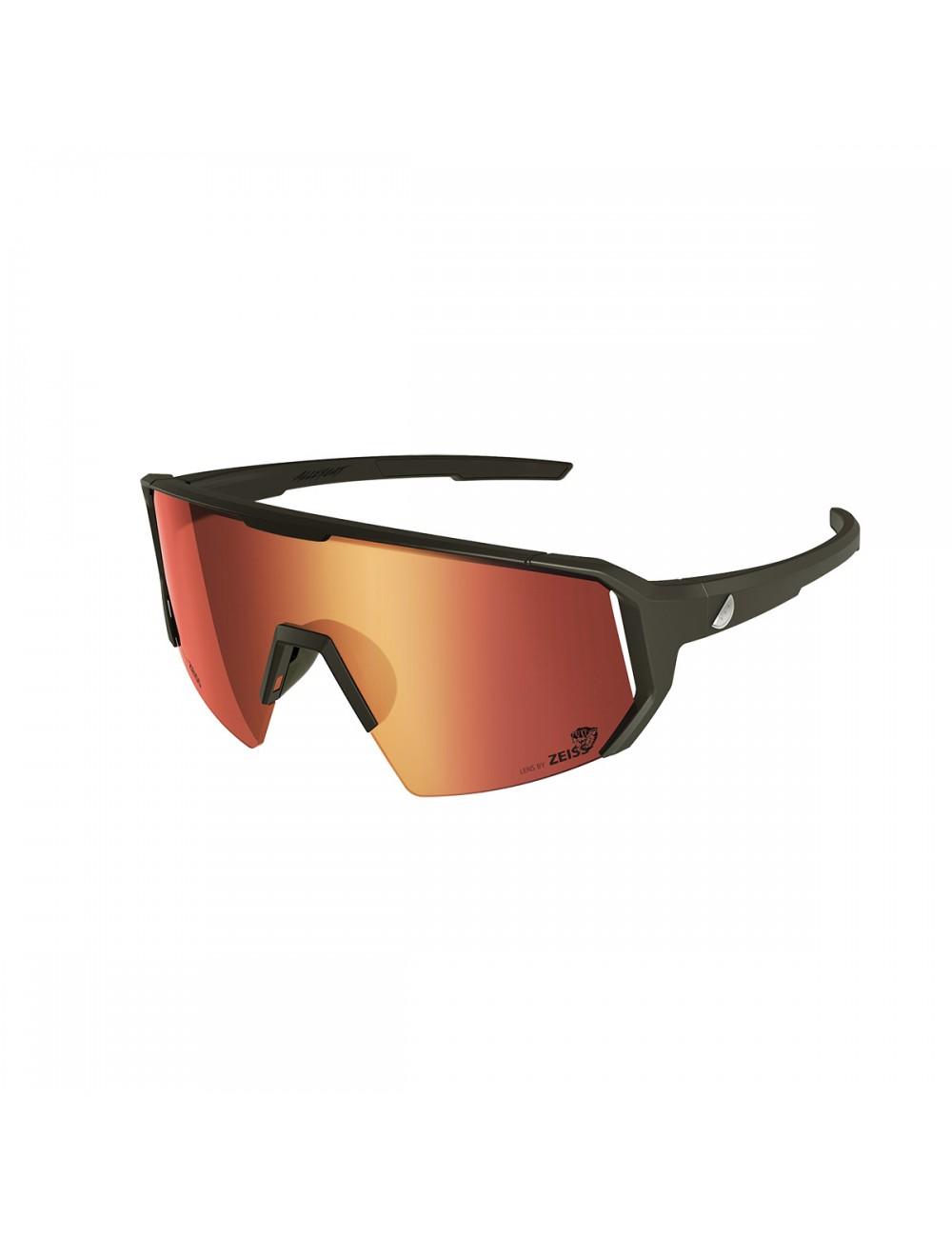 Melon Alleycat Sunglasses - Black/Red_12961