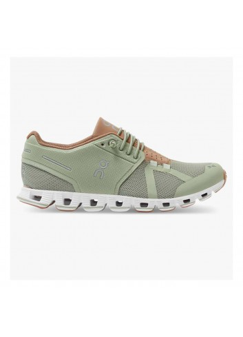 ON Cloud Shoe - Leaf/Mocha_12973