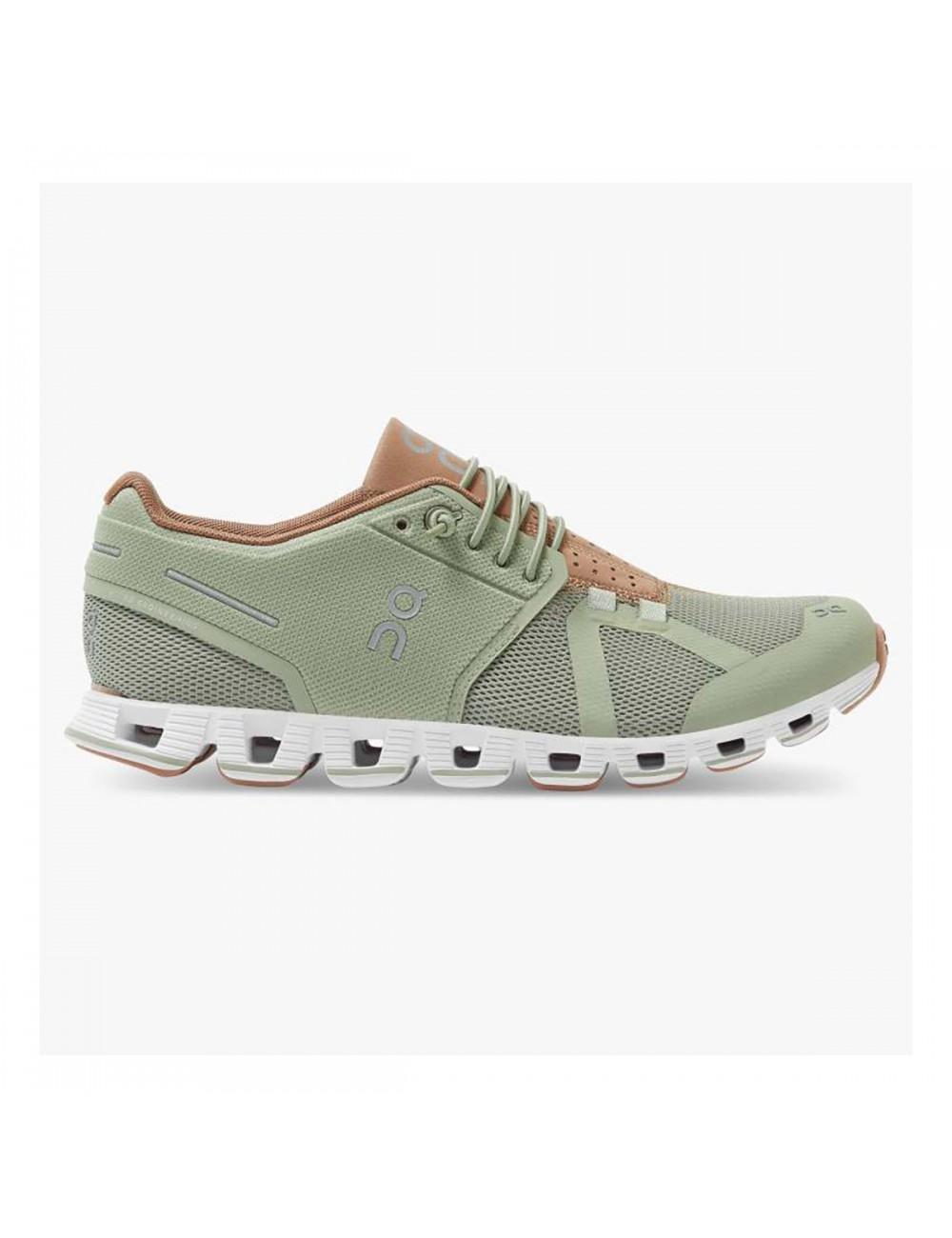 ON Cloud Shoe - Leaf/Mocha_12973