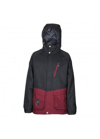 L1 Legacy Jacket - Black/Wine_13092