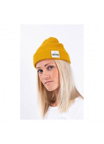 Eyvi Colder Rib Beanie - Mustard_13205