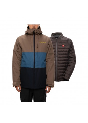 686 Smarty 3-in-1 Form Jacket - Tobacco_13234