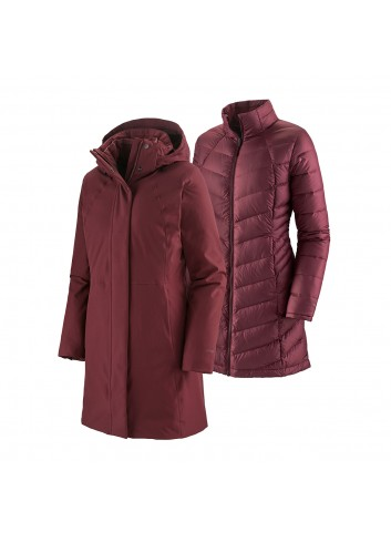 Patagonia Tres 3-in-1 Parka - Chicory Red_13286