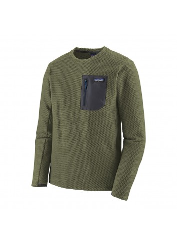 Patagonia R1 Air Crew Fleece - Green_13287